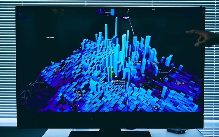 """""""デジタルデータをリアルタイムでマッピングする地図「Mapbox」"""""""