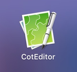 CotEditorアプリアイコン