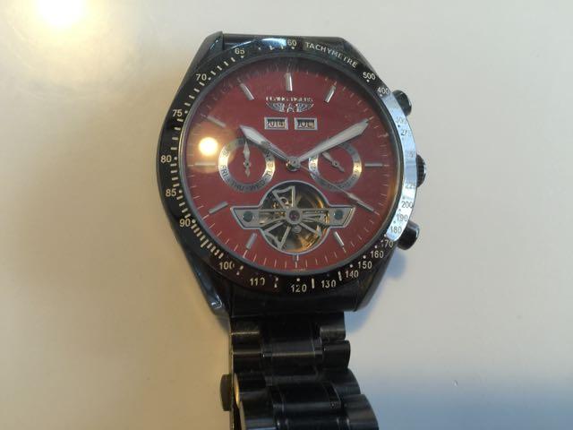 昔使っていた腕時計