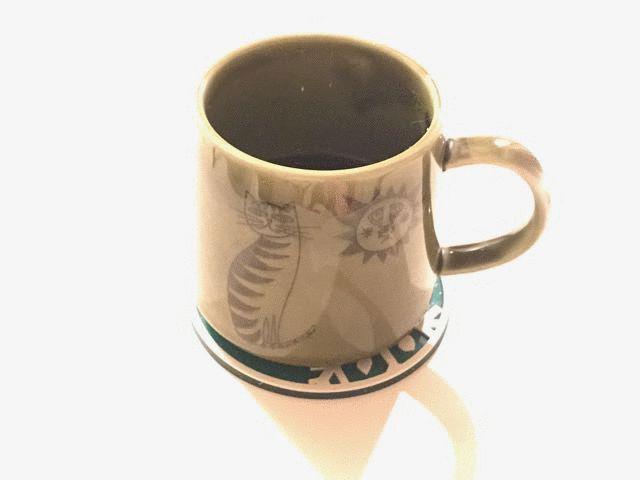 iPhone7で撮ったコーヒーカップ