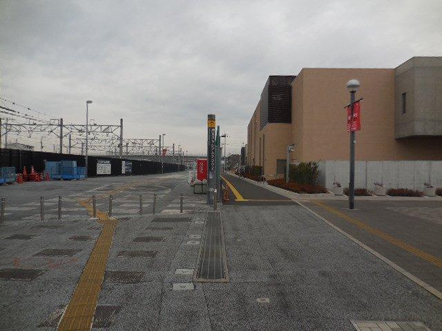 埼玉スタジアム2002 歩行者専用道路