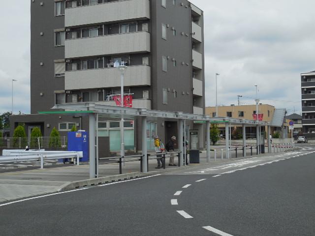 浦和美園駅 バスロータリー