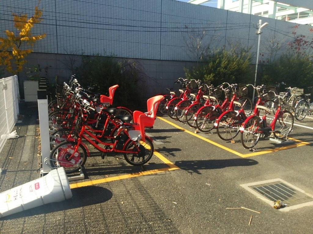 自転車シェアリング 浦和美園