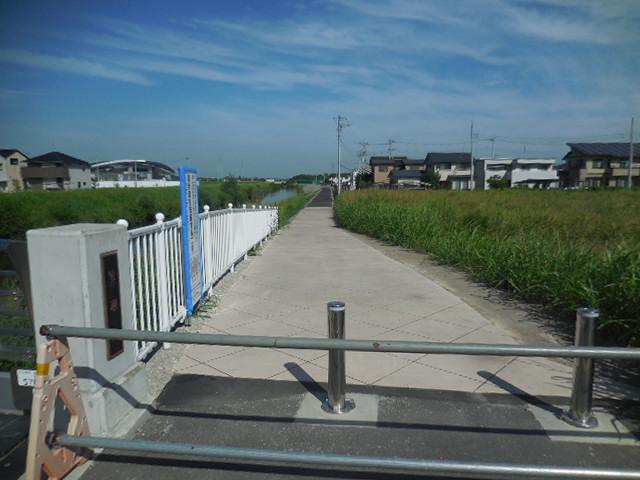綾瀬川 遊歩道 浦和美園