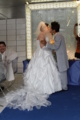 [結婚式][人前式][披露宴][090712][アロハシャツでリゾー][in][お台場][車いすのお父様も]