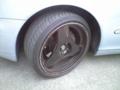タイヤ  パンクしてしまったので いっそスタッドレスにチェンジです
