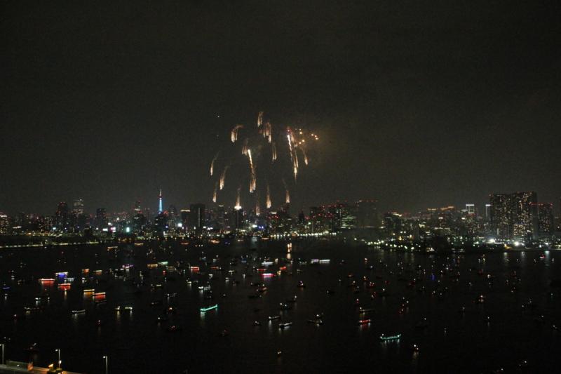 [花火][東京湾]