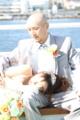 [フォトウエディング][船上][東京湾][写真][ウエディングクルーズ][レインボーブリッジ][アクエリウム][お台場][東京][写真]