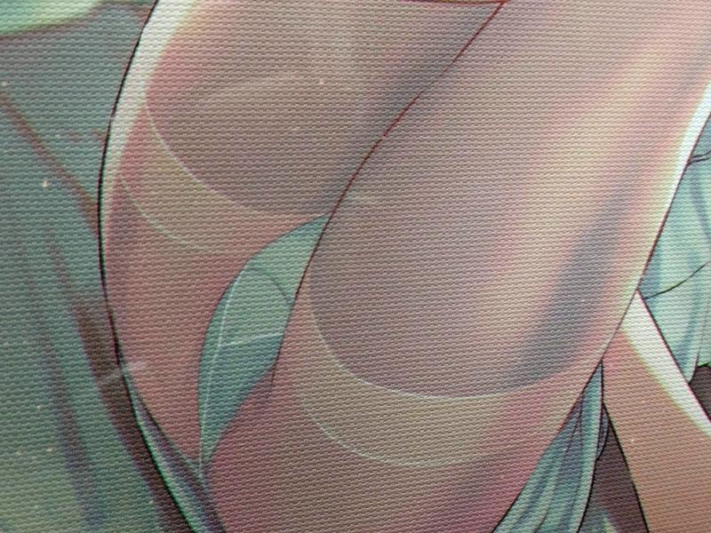 40原先生による『嫌な顔されながらおパンツ見せてもらいたい』のイラスト展『嫌パンイラスト展3』の写真画像