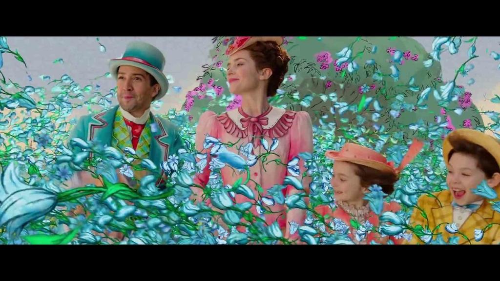 映画『メリー・ポピンズ リターンズ』の画像