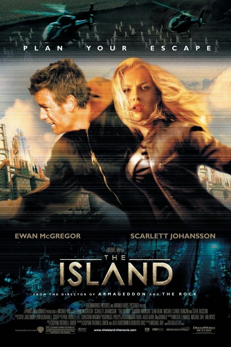 映画『アイランド』(2005)ポスター