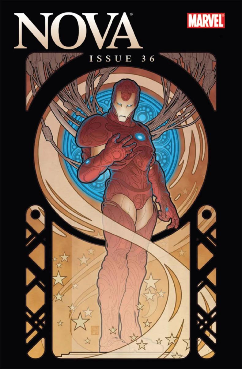 作品名:『ノヴァ』(No.36B/マーベルコ・ミックス) 英 題:Nova, #36B, Marvel Comics