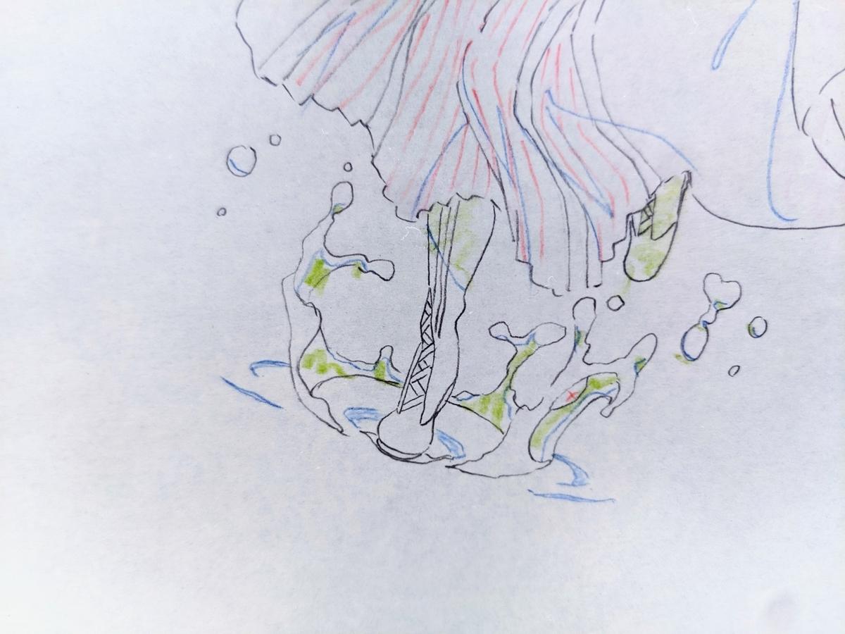 『ヴァイオレット・エヴァーガーデン』より(京アニ原画展にて)