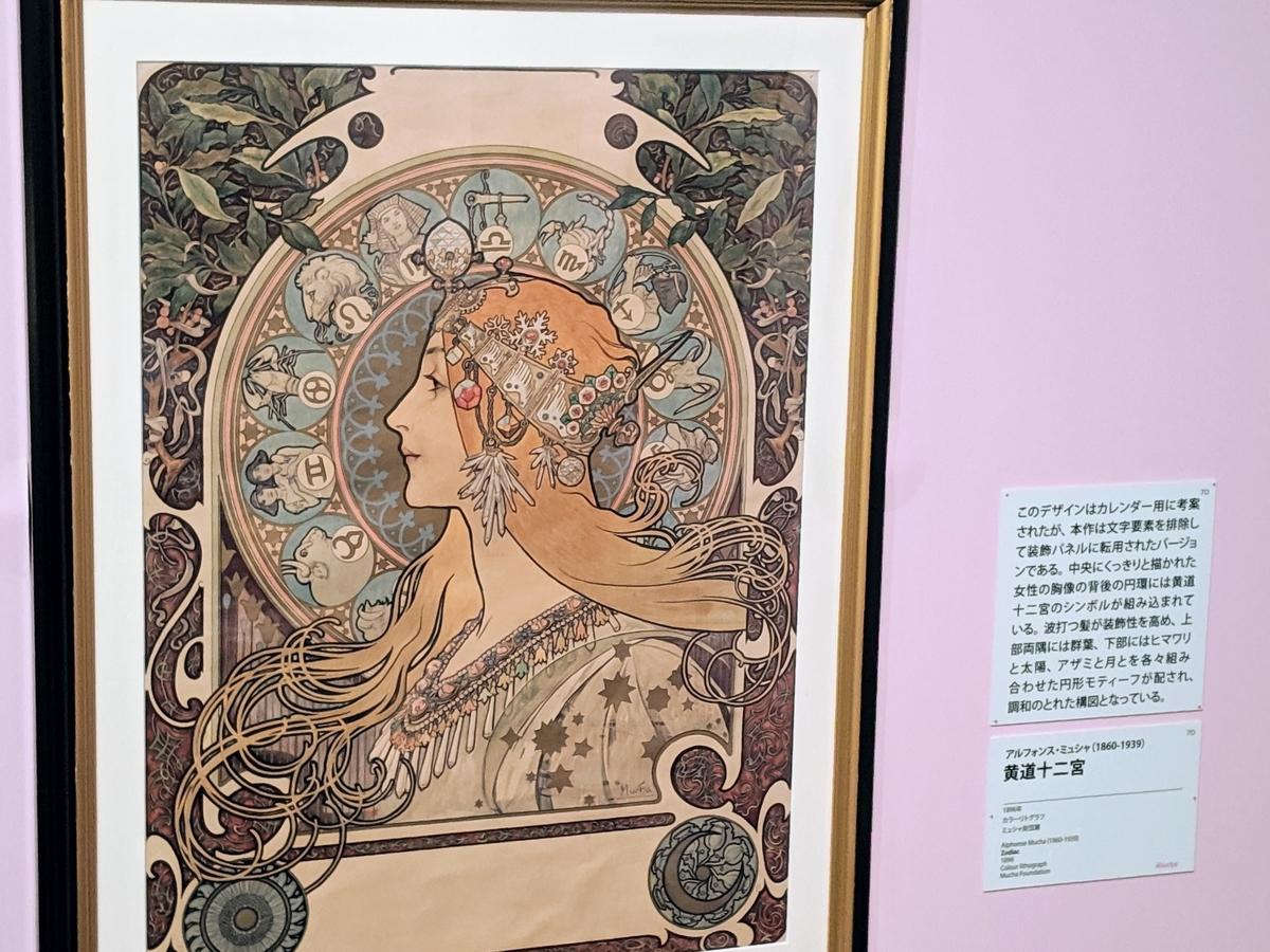 ミュシャ「黄道十二宮 (Zodiac)」