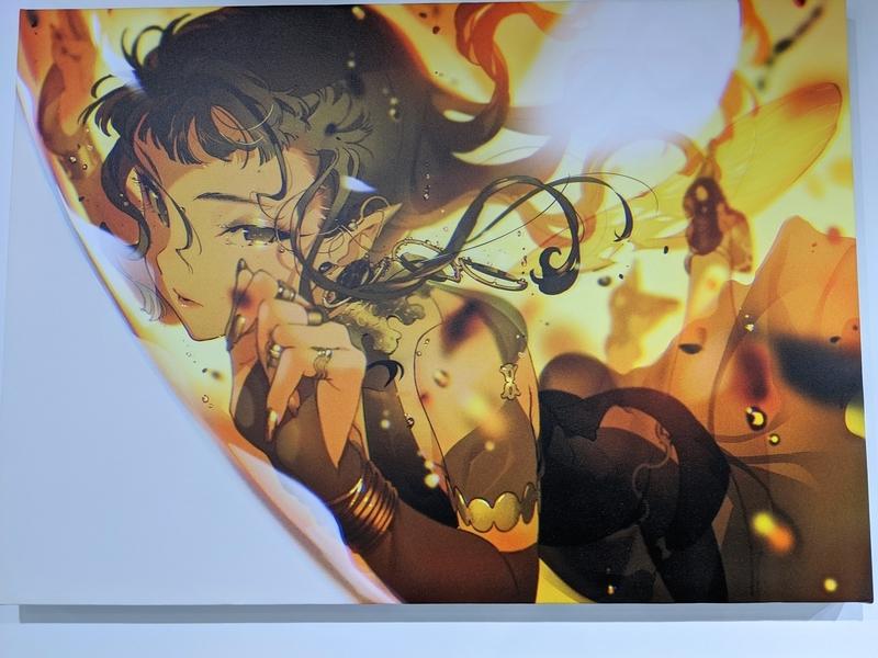 米山舞イラスト個展「SHE」の画像