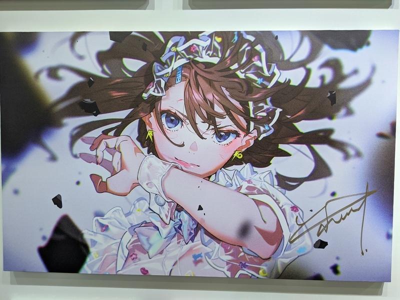 米山舞個展「SHE」画像