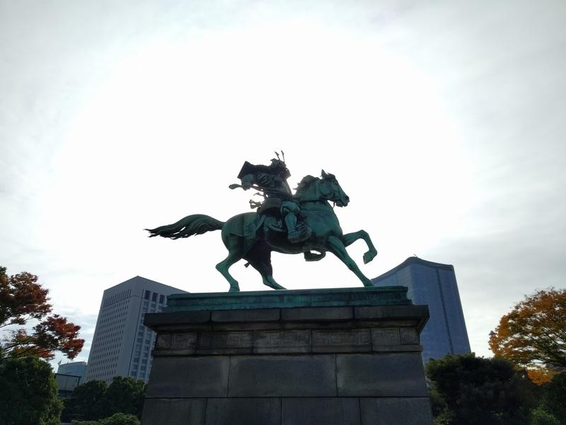 楠木正成の銅像