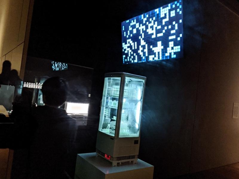 「わたしは人類」展示風景