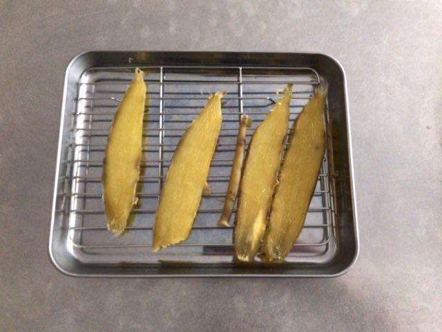 室内でできる干し芋の作り方