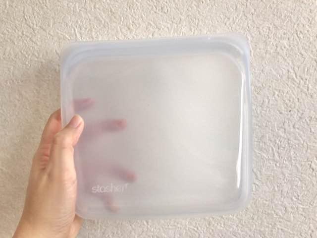 【脱・使い捨て】シリコン製のジッパーバッグ「スタッシャー」を購入しました