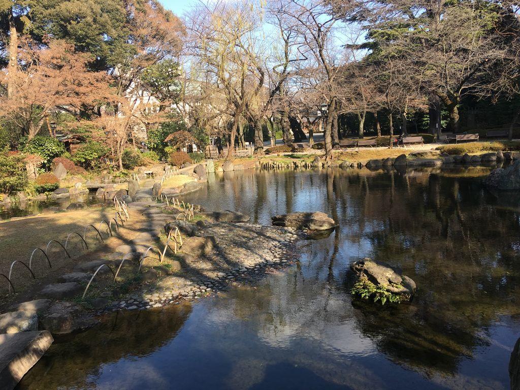 靖国神社 神池庭園