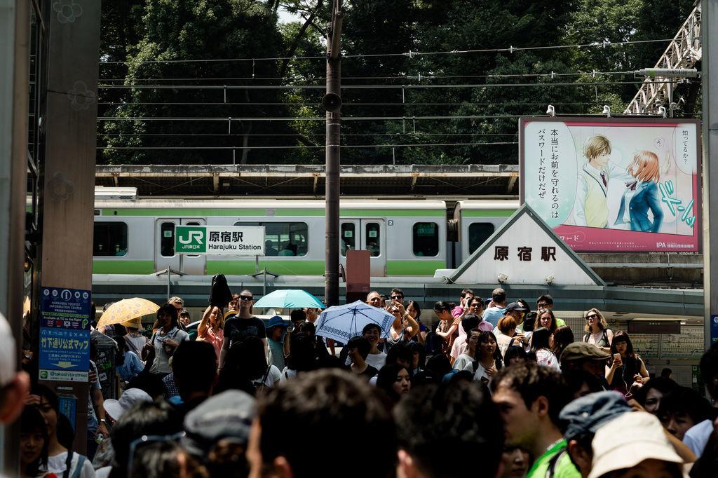 JR原宿駅 竹下通り付近
