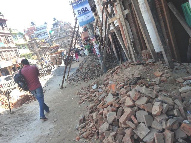 ネパールの震災