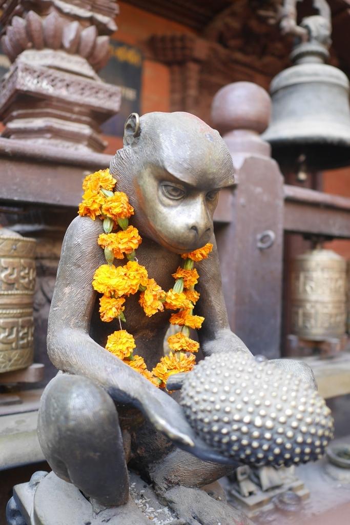 ネパールのお祈り