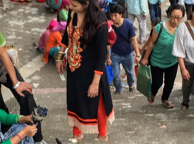 ネパールの洋服がカワイイ