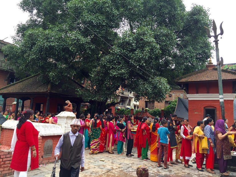 ネパール女子が集まる