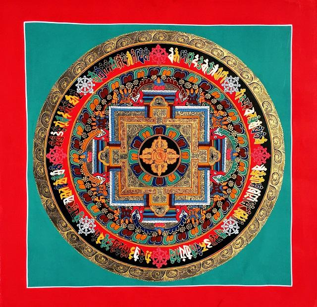 ポップなDouble Dorje Mandala