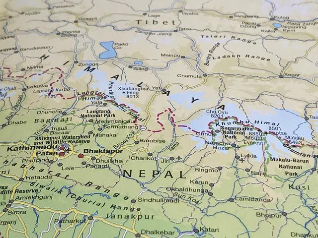 ネパールのヒマラヤ