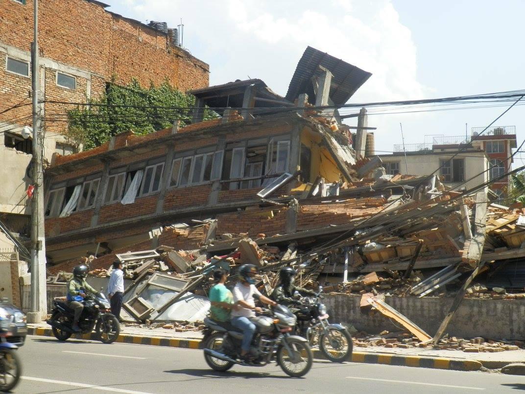 ネパール大震災