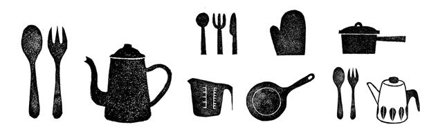 「イラスト 無料 台所用品」の画像検索結果