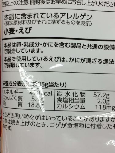 食物アレルギー 注意喚起表示