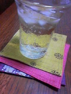 梅酒とペリエ