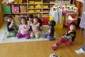 2才児ハミガキ(秋田県秋田市の楽しい幼稚園 新屋幼稚園)