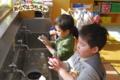 手洗い(秋田県秋田市の楽しい幼稚園 新屋幼稚園)インフルエンザ対