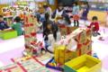 段ボールハウス(秋田県秋田市の楽しい幼稚園 新屋幼稚園)