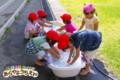 洗濯ごっこ(秋田県秋田市の楽しい幼稚園 新屋幼稚園)