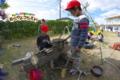 キャンプごっこ(秋田県秋田市の楽しい幼稚園 新屋幼稚園)