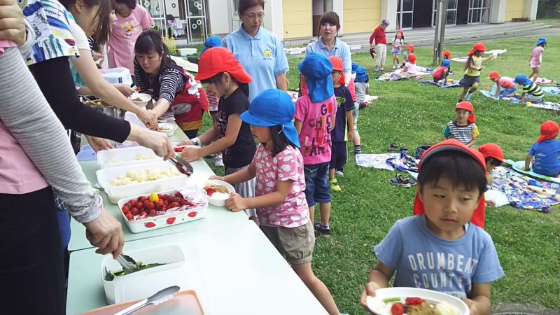 サマースクール(秋田県秋田市の楽しい幼稚園 新屋幼稚園)