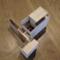 鶴橋の家の模型