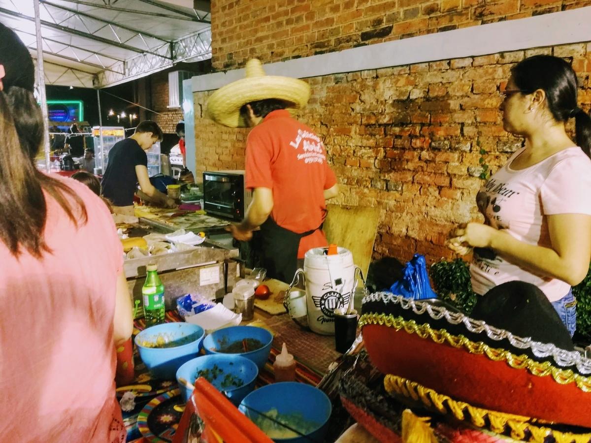 メキシコ料理店