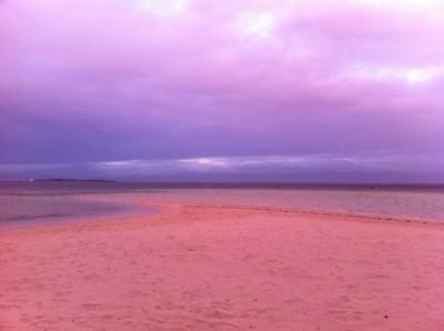 浜辺のマジックタイム