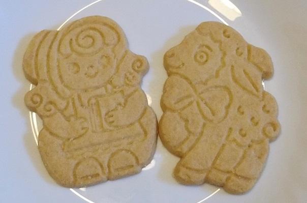 メリーさんと羊をモチーフにしたクッキー