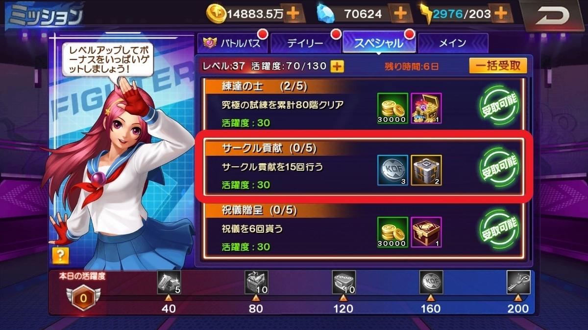 KOF 98 UM OL デイリー スペシャル