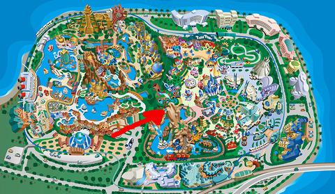 ディズニーリゾート全体地図
