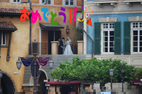 ミラコスタ結婚式