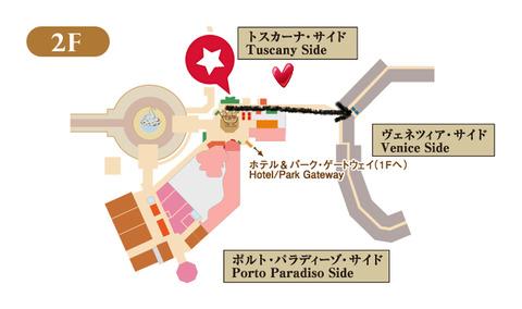 東京ディズニーシーホテルミラコスタ館内マップ